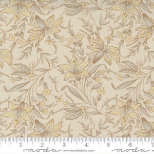 Regency Somerset Blues By Christopher Wilson Tate For Moda - Shadow White - Old White