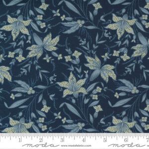 Regency Somerset Blues By Christopher Wilson Tate For Moda - Navy