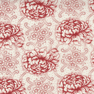 Cranberries And Cream By 3 Sisters For Moda - Cream - Cranberry