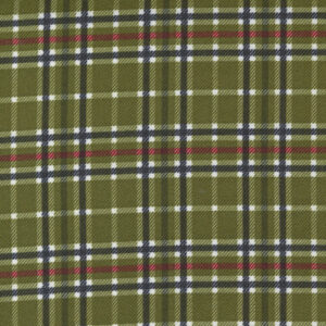 Yuletide Gatherings Flannels By Primitive Gatherings For Moda - Holly