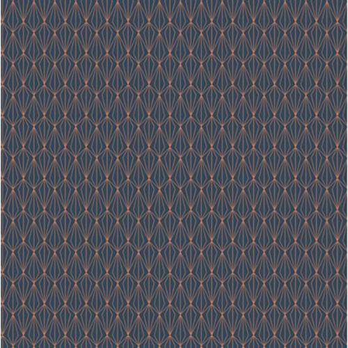 Marvellous Metallic  By  For Lewis & Irene - Navy
