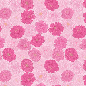 Love Blooms By Lewis & Irene - Bright Pink