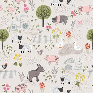 Piggy Tales By Lewis & Irene - Dark Cream