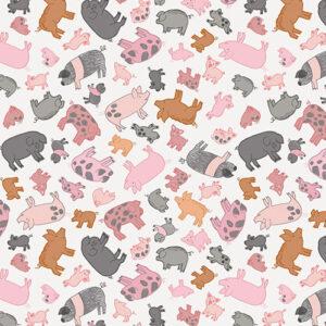 Piggy Tales By Lewis & Irene - Cream