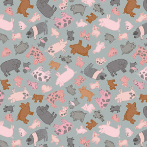 Piggy Tales By Lewis & Irene - Grey