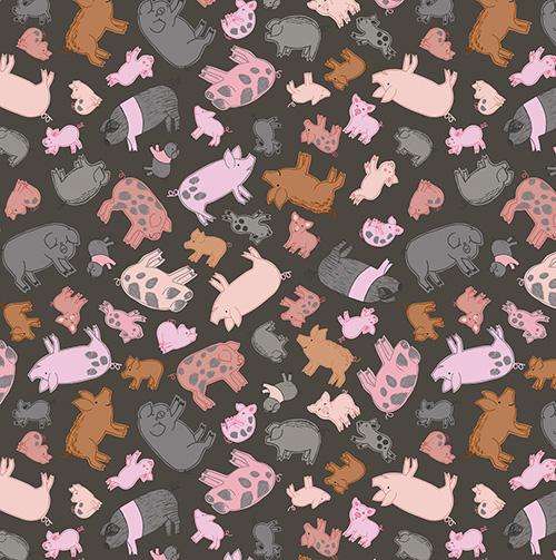 Piggy Tales By Lewis & Irene - Dark Mud