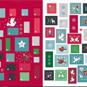 Hygge Glow By Lewis & Irene - Advent Calendar - Digital Panel Not Glow
