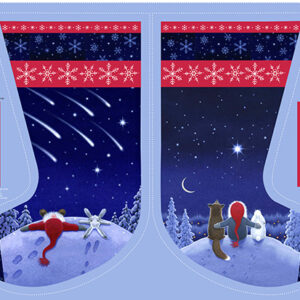 Keep Believing By Lewis & Irene - Stocking Panel