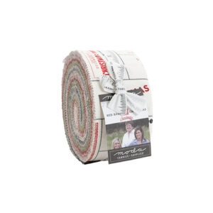 Red Barn Christmas Jelly Roll By Moda